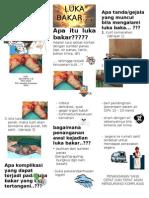 Leaflet Luka Bakar