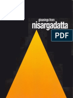 Sri Nisargadatta Maharaj ~ Gleanings From Nisargadatta