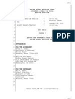Allen Stanford Criminal Trial Transcript Volume 7 Jan. 31, 2012