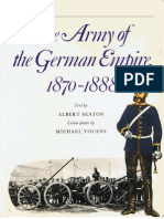 MAA 004 the Army of the German Empire 1870-1888
