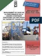 Management et Suivi de la Performance de la Chaîne Logistique Portuaire - Cas des Ports de Tanger et de Casablanca (Anas)