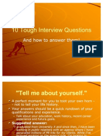 10 Tough Interview Questions