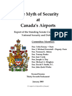 Senate Report on Airport Security