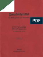 Feuerlöschmittel Ihre Wirkungsweise und Anwendung - Rudolf Bethke