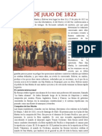 26 DE JULIO DE 1822