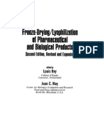 Lyophilization of Pharmaceutical and Biological Products, Rey (2004)
