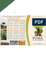 Calendario 2012 ajustado