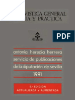 a General Teoria y Practica - Antonia Heredia
