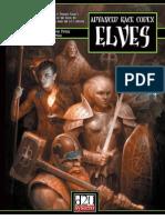 Advanced Race Codex. Elves