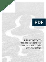 El Contexto Sociogeografico de La Amazonia