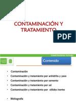 CONTAMINACIÓN Y TRATAMIENTO-300411