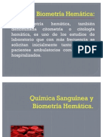Química Sanguínea y Biometría Hemática (2)