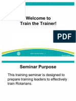 Train the Trainer Slides En