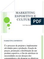 Marketing Esportivo e Cultural