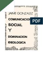 González, Jaime - Comunicación social y dominación ideológica