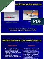 Protocolo de Cementacion Adhesiva Dual