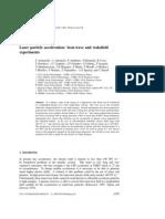 F Amiranoff et al- Laser particle acceleration