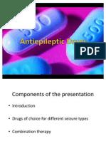 Anti Epileptic Drugs Presentation