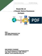 Modul KK15 Mendesain Sistem Keamanan Jaringan