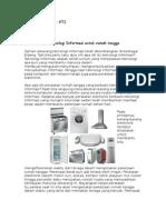 Blog-Pemanfaatan Teknologi Informasi Untuk Rumah Tangga