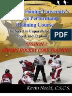 Strong Hockey Core Training