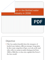 Competition in the Bottled Water Industry in 2006