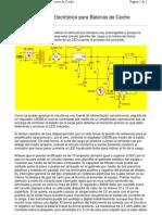 Diagrama de Cargador de Baterias