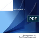 Dynamics Fixed Assets