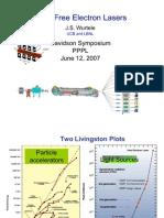 J.S. Wurtele- X-Ray Free Electron Lasers