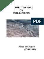 Complete Report(Soil Erosion)
