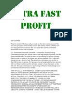 Ultra Fast Profit