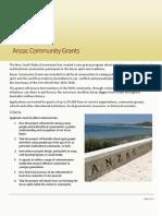 Flyer Community Grants