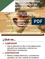 Comparar y Contrastar Diferentes Funciones Version Blog