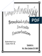 Case Analysis Bronchial Asthma