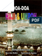Doa-Doa Haji Dan Umroh