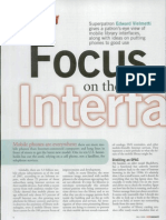 Focus on the Interface - Mobile