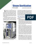 Basics of Steam Sterilization