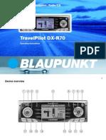 BLAUPUNKT DX R 70