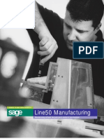 Sage Line 50 Manufacturing User Guide
