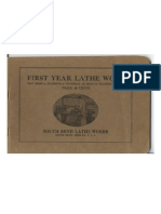 First Year Lathe Work - 1917
