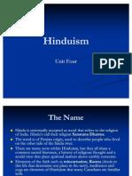Hinduism Cwr Unit 2