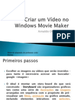 Criar um Vídeo no Windows Movie Maker