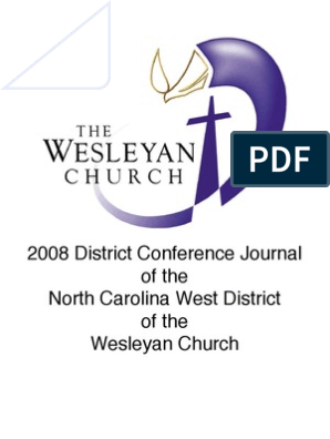 2008 NC West District Journal