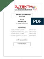 Mini Project Database