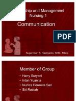 Leadership and Management Nursing 1