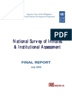 Survey of Inmates Final Report