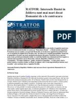 ANALIZA STRATFOR-Interesele Rusiei in Rep. Moldova