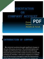PPT on Company