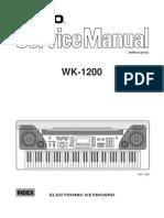 Casio Wk-1200 [ET] Service Man