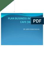 Plan Business Internet Cafe (Warnet)